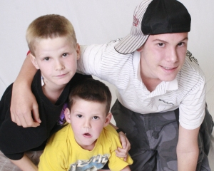Taken by Josephine photography, 2008. This picture captures my Liam, Dylan and Ryan's individuality perfectly.