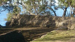 The end of the Wall at Lota