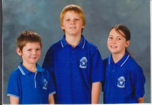 Ryan, Dylan and Jaimie, Wynnum Central State School, 2009
