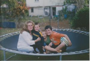 Dylan and family, 2003