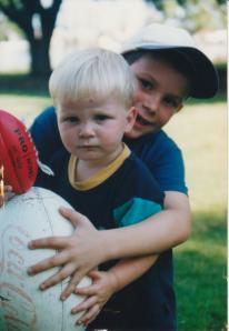 Liam and Dylan 2001